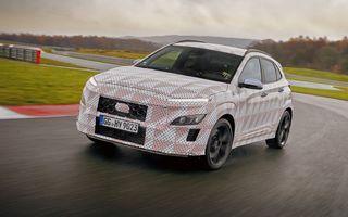 Primul SUV de performanță Hyundai: Kona N va avea motor turbo de 2 litri și transmisie automată
