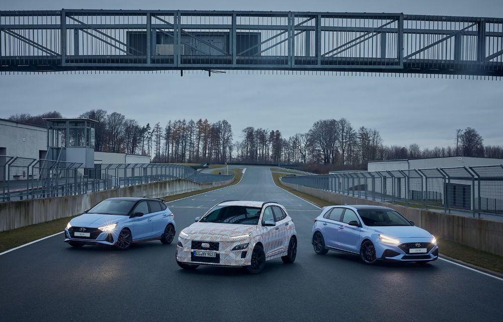 Primul SUV de performanță Hyundai: Kona N va avea motor turbo de 2 litri și transmisie automată - Poza 2