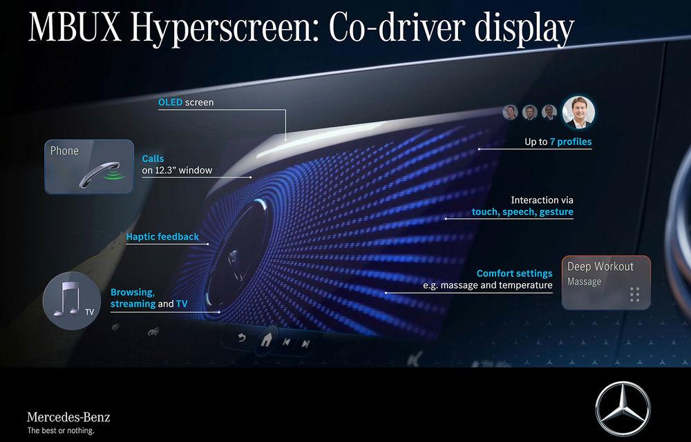 Detalii noi despre MBUX Hyperscreen, sistemul multimedia care va putea să facă pe ghidul în oraș - Poza 4