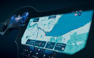Detalii noi despre MBUX Hyperscreen, sistemul multimedia care va putea să facă pe ghidul în oraș