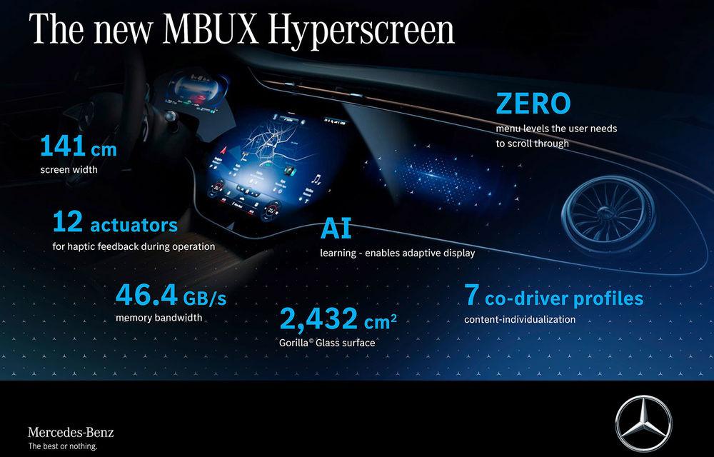 Detalii noi despre MBUX Hyperscreen, sistemul multimedia care va putea să facă pe ghidul în oraș - Poza 5