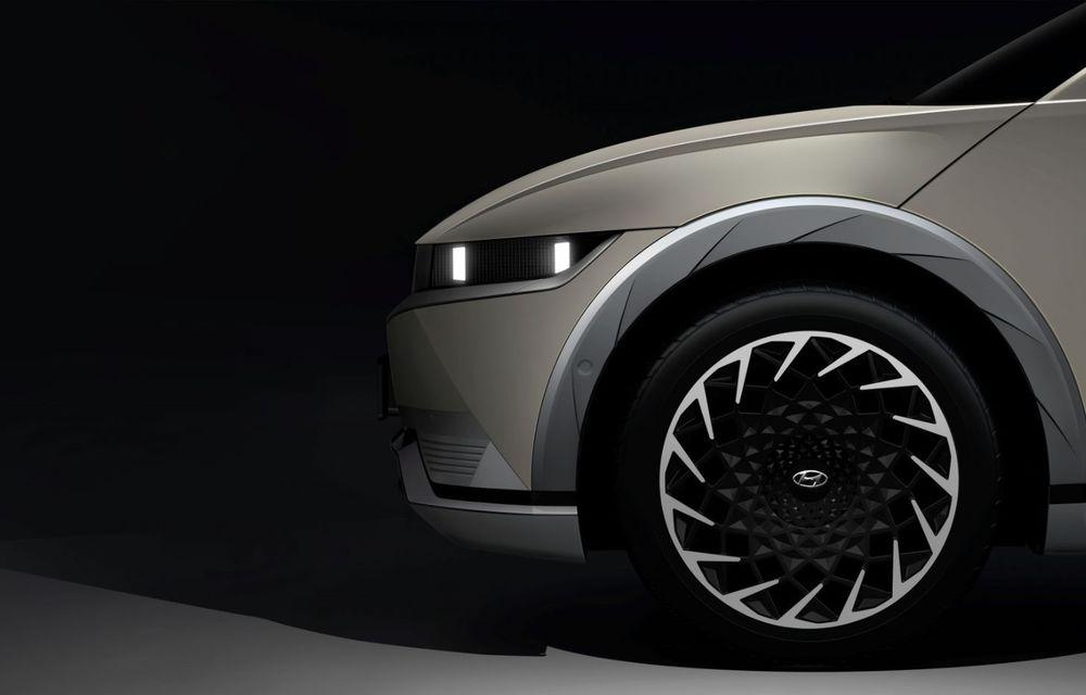 Hyundai dezvăluie primele imagini teaser cu SUV-ul electric Ioniq 5: premieră mondială în februarie 2021 - Poza 3