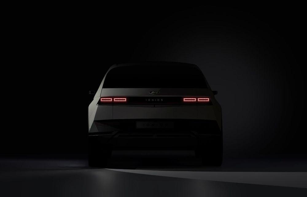 Hyundai dezvăluie primele imagini teaser cu SUV-ul electric Ioniq 5: premieră mondială în februarie 2021 - Poza 2