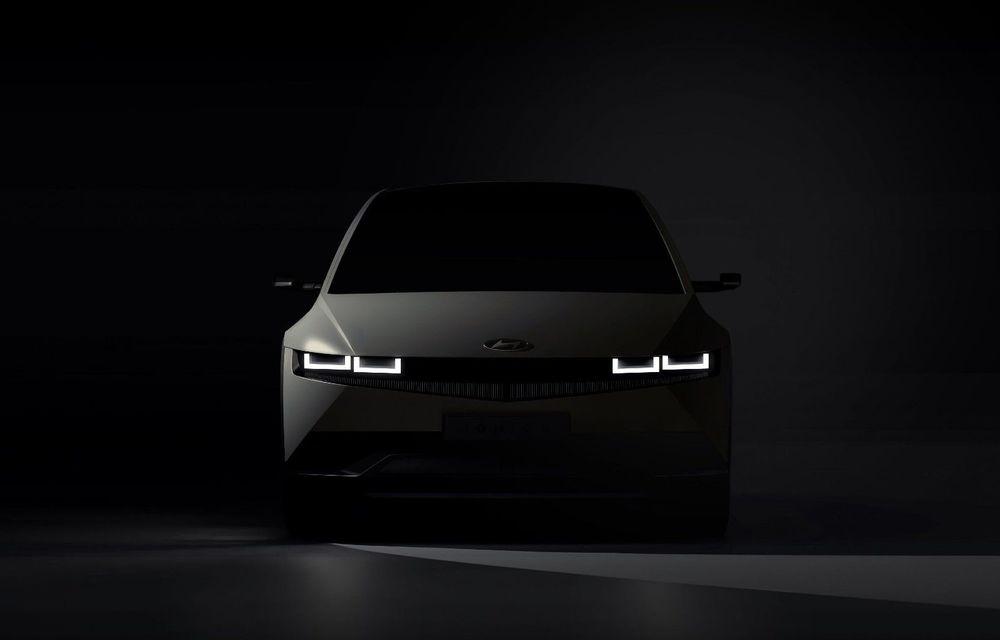 Hyundai dezvăluie primele imagini teaser cu SUV-ul electric Ioniq 5: premieră mondială în februarie 2021 - Poza 1