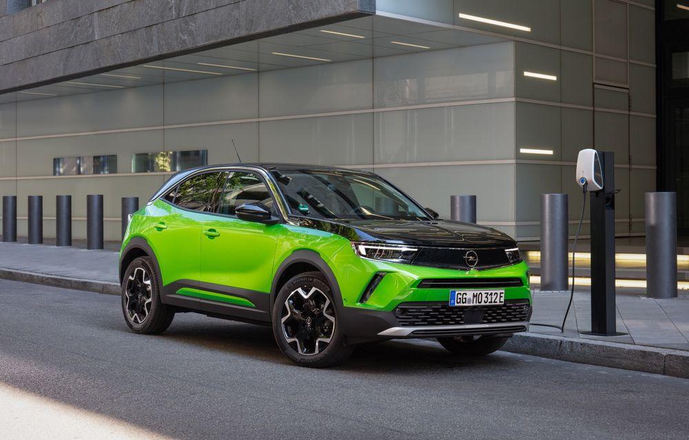 Electricul Opel Mokka-e se pregătește să primească o versiune sportivă OPC - Poza 1