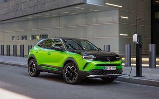 Electricul Opel Mokka-e se pregătește să primească o versiune sportivă OPC