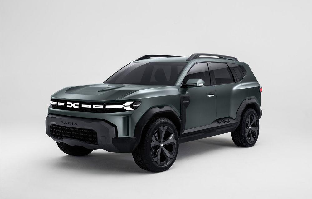 Dacia Bigster: primele imagini și informații ale viitorului SUV românesc mai mare ca Duster - Poza 1