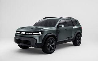 Dacia Bigster: primele imagini și informații ale viitorului SUV românesc mai mare ca Duster