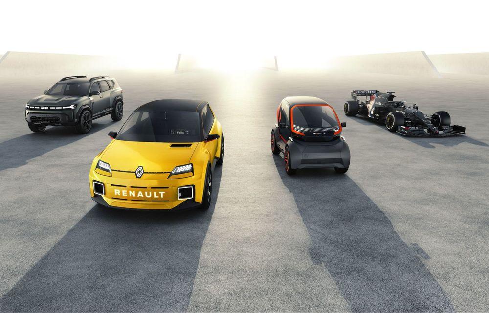 Renault anunță planurile pe 5 ani: jumătate din modelele lansate vor fi electrice. Mașinile vor avea un sistem multimedia dezvoltat cu Google - Poza 1