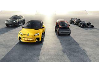 Renault anunță planurile pe 5 ani: jumătate din modelele lansate vor fi electrice. Mașinile vor avea un sistem multimedia dezvoltat cu Google