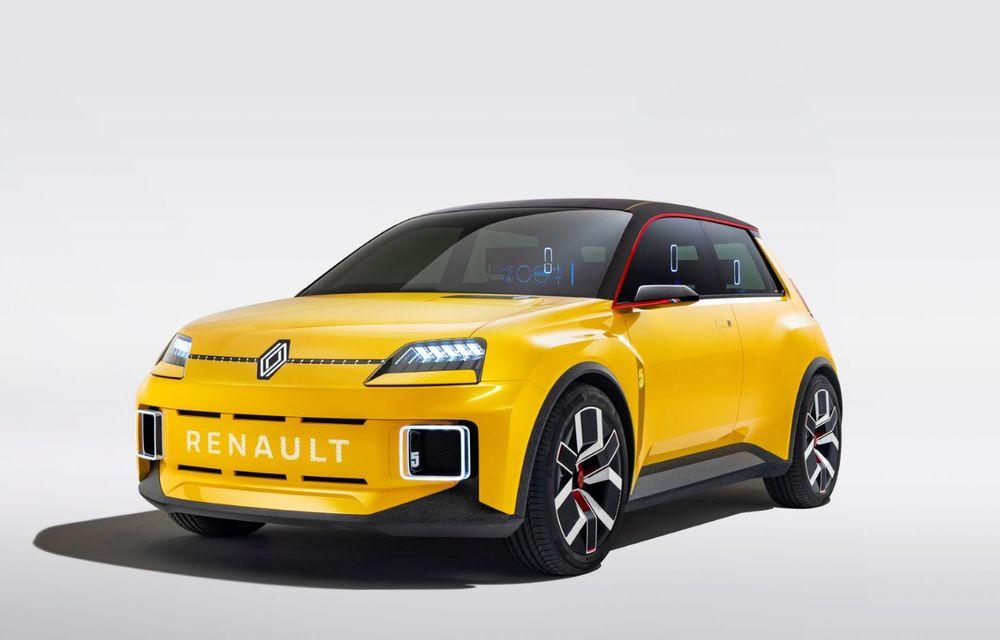 Renault 5 Prototype: francezii prezintă renașterea celebrului R5 ca model 100% electric - Poza 6