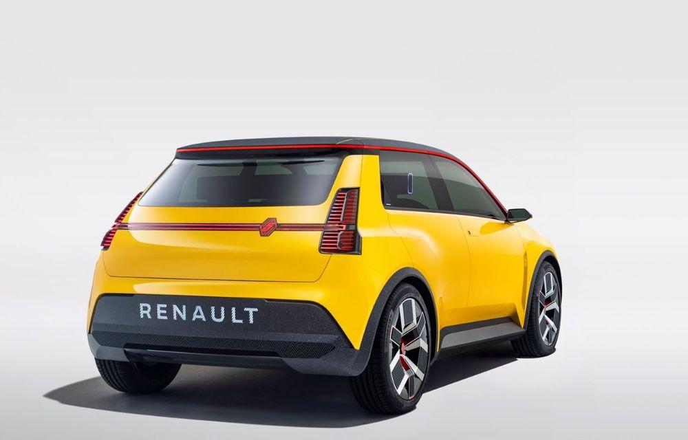 Renault 5 Prototype: francezii prezintă renașterea celebrului R5 ca model 100% electric - Poza 8