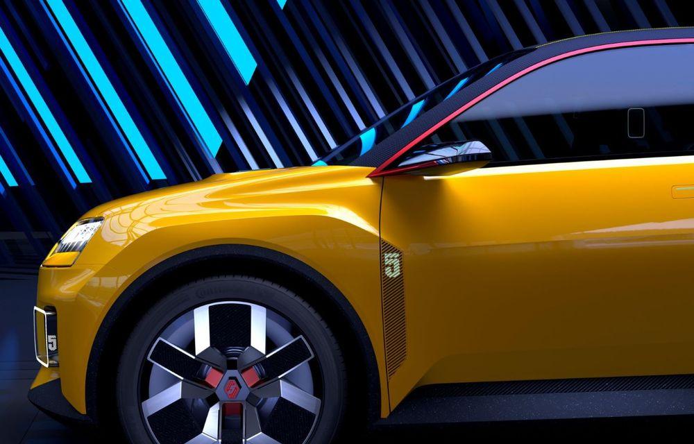 Renault 5 Prototype: francezii prezintă renașterea celebrului R5 ca model 100% electric - Poza 3