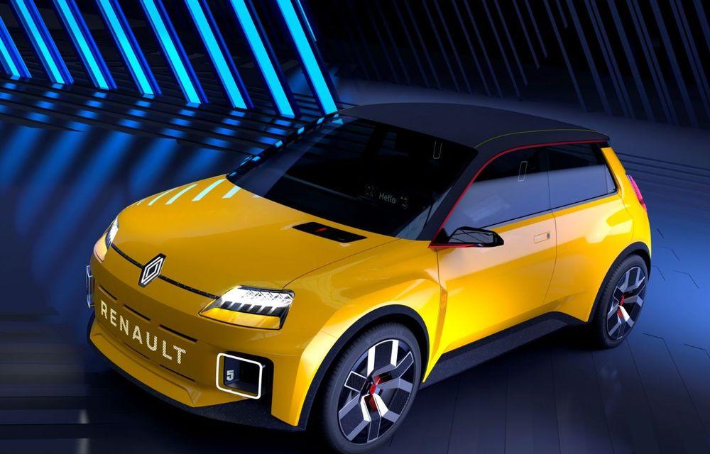 Renault 5 Prototype: francezii prezintă renașterea celebrului R5 ca model 100% electric - Poza 5