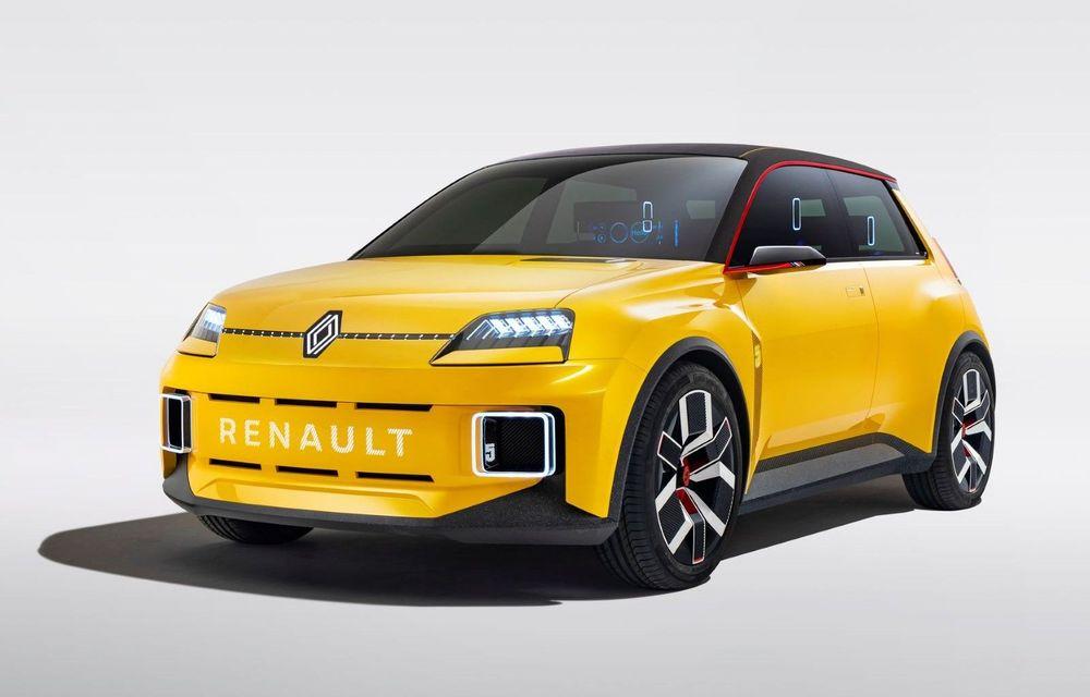 Renault 5 Prototype: francezii prezintă renașterea celebrului R5 ca model 100% electric - Poza 1