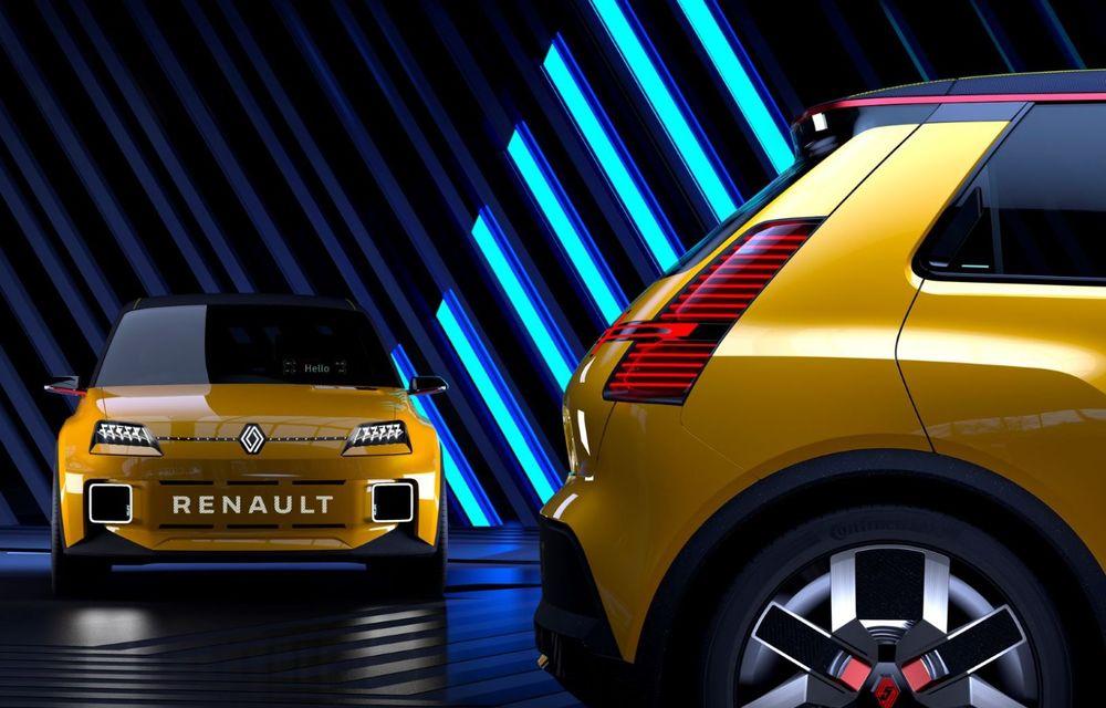 Renault 5 Prototype: francezii prezintă renașterea celebrului R5 ca model 100% electric - Poza 2