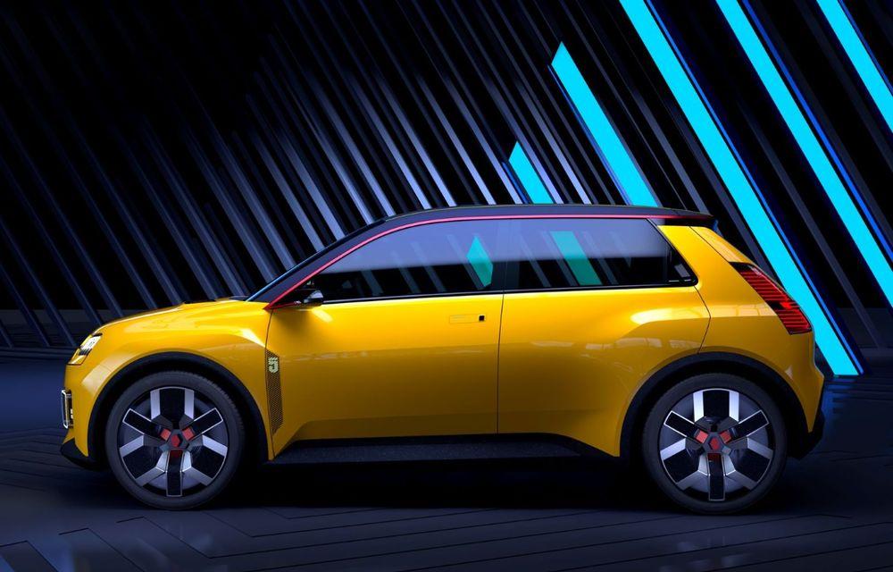 Renault 5 Prototype: francezii prezintă renașterea celebrului R5 ca model 100% electric - Poza 4
