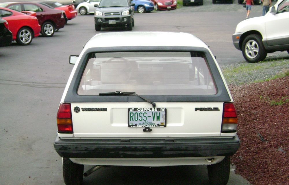 În anii '80, Volkswagen a lansat un Polo care consuma doar 3 litri/100 de km - Poza 3