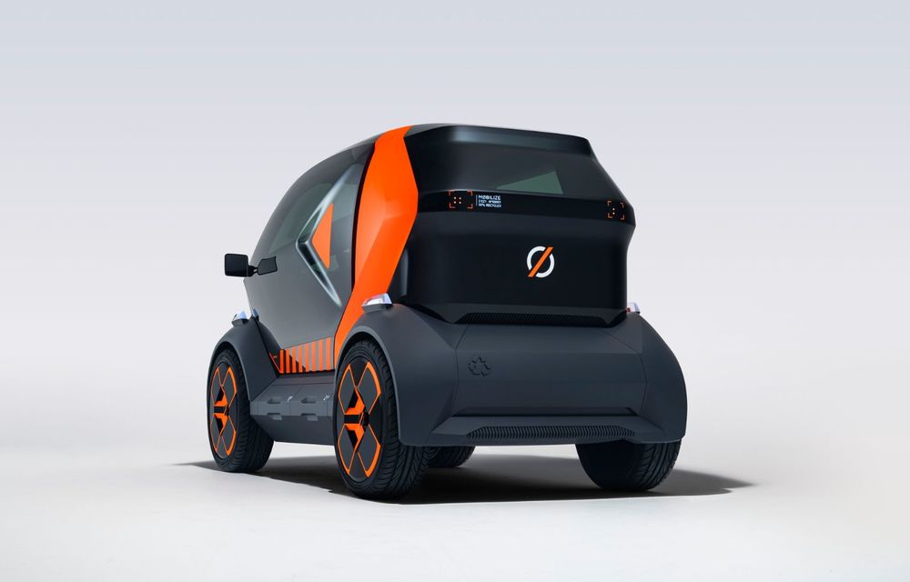 Renault prezintă conceptul electric EZ-1 pentru servicii de car sharing: prototipul introduce noul brand Mobilize - Poza 3