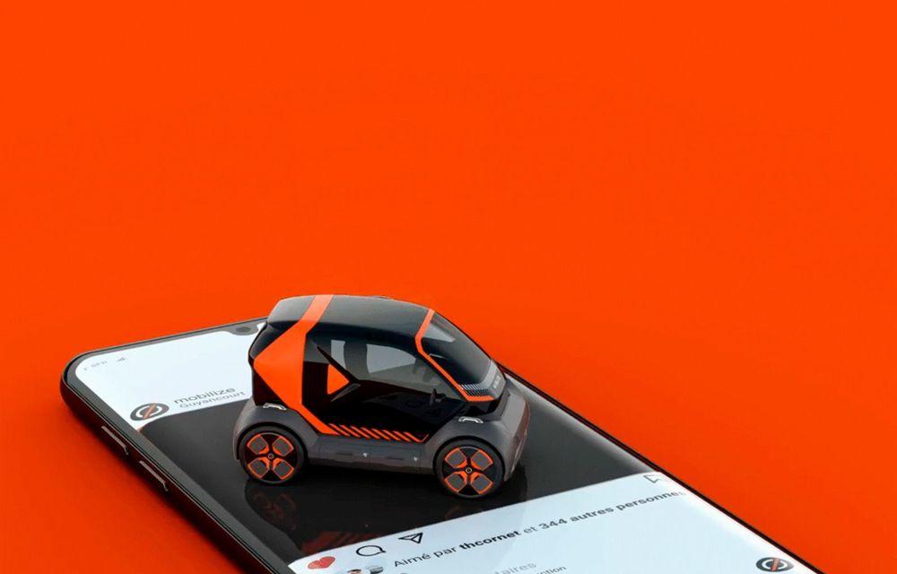 Renault prezintă conceptul electric EZ-1 pentru servicii de car sharing: prototipul introduce noul brand Mobilize - Poza 8