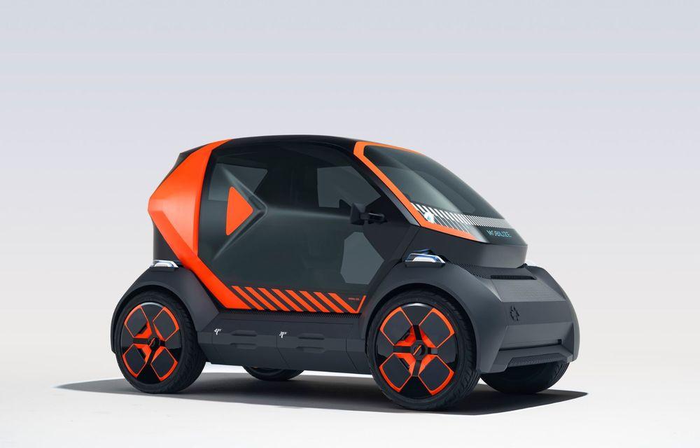 Renault prezintă conceptul electric EZ-1 pentru servicii de car sharing: prototipul introduce noul brand Mobilize - Poza 2