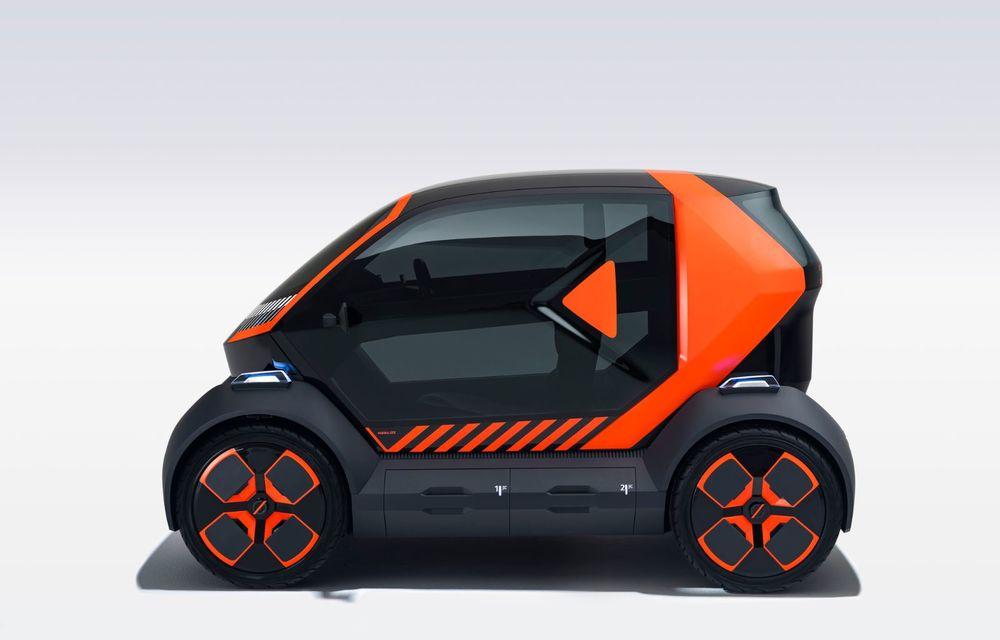 Renault prezintă conceptul electric EZ-1 pentru servicii de car sharing: prototipul introduce noul brand Mobilize - Poza 4