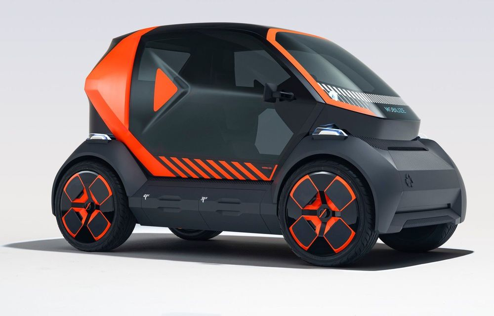 Renault prezintă conceptul electric EZ-1 pentru servicii de car sharing: prototipul introduce noul brand Mobilize - Poza 1