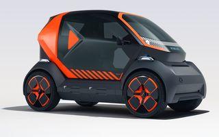 Renault prezintă conceptul electric EZ-1 pentru servicii de car sharing: prototipul introduce noul brand Mobilize