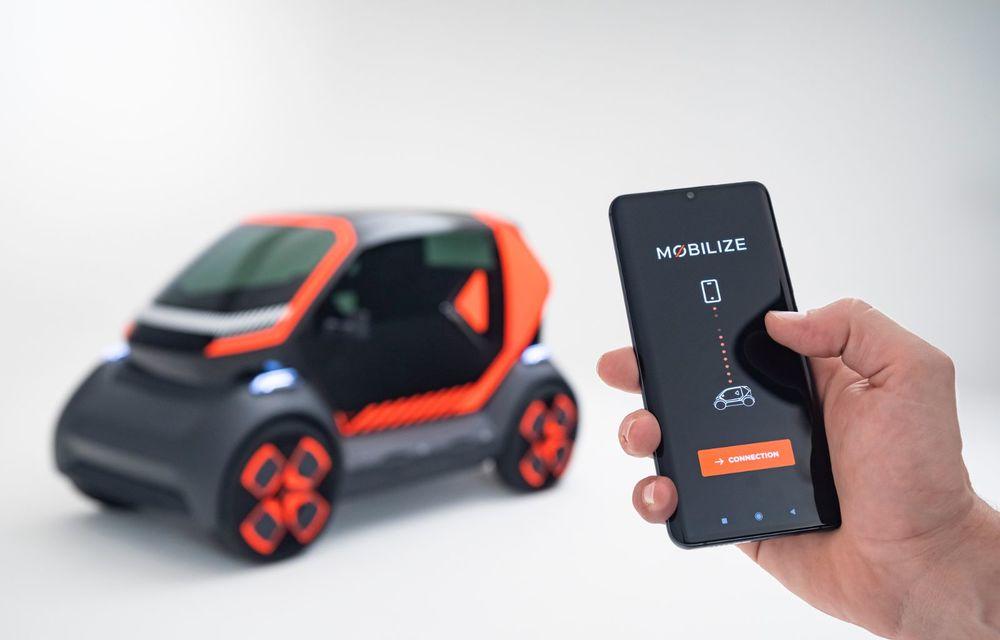 Renault prezintă conceptul electric EZ-1 pentru servicii de car sharing: prototipul introduce noul brand Mobilize - Poza 5