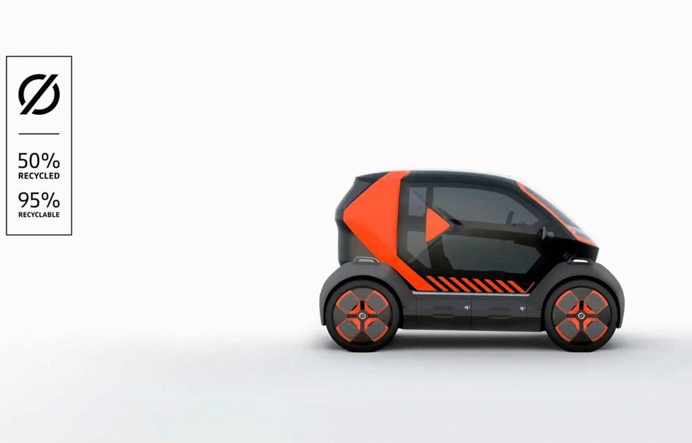 Renault prezintă conceptul electric EZ-1 pentru servicii de car sharing: prototipul introduce noul brand Mobilize - Poza 7