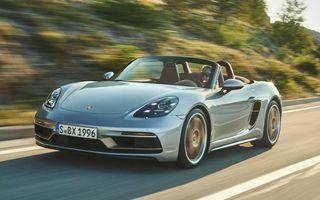 Porsche celebrează 25 de ani de Boxster cu ediția specială Boxster 25 Years. Disponibilă și în România