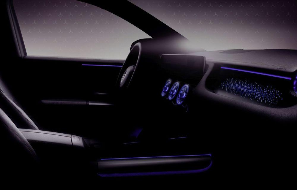 Prima imagine din interiorul noului Mercedes EQA: electrica va debuta în 20 ianuarie - Poza 1