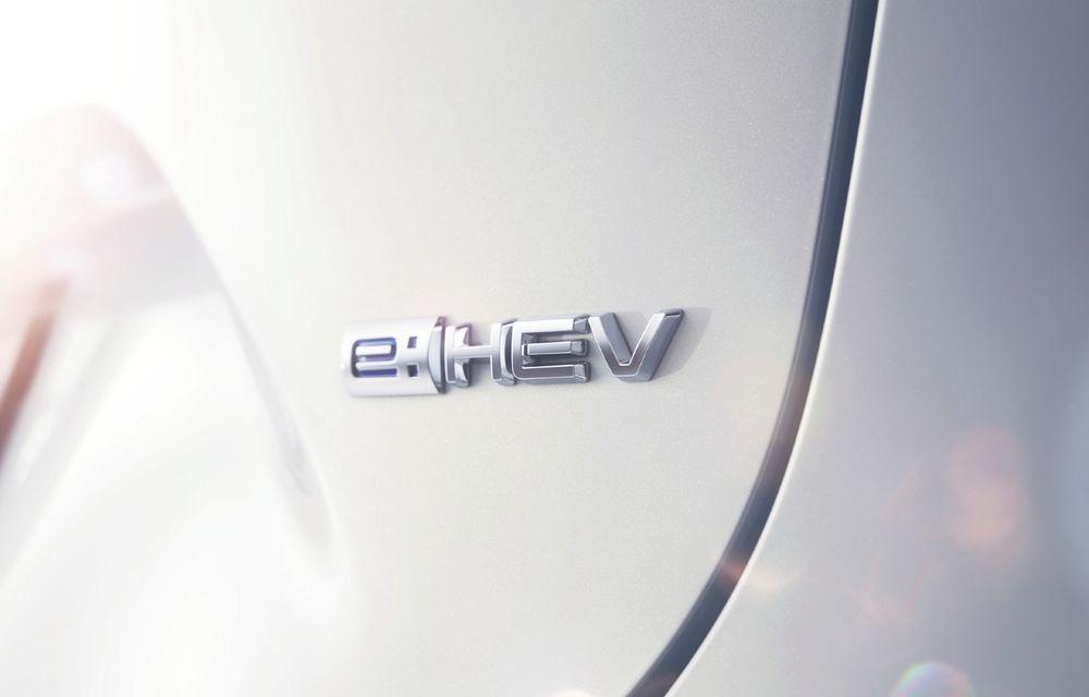 Noul Honda HR-V va fi lansat cu un sistem de propulsie hibrid e:HEV, asemănător cu ce vedem pe Jazz - Poza 1