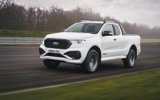 Acesta este noul Ford Ranger MS-RT: exterior inspirat din motorsport, motor diesel biturbo și sunet sportiv