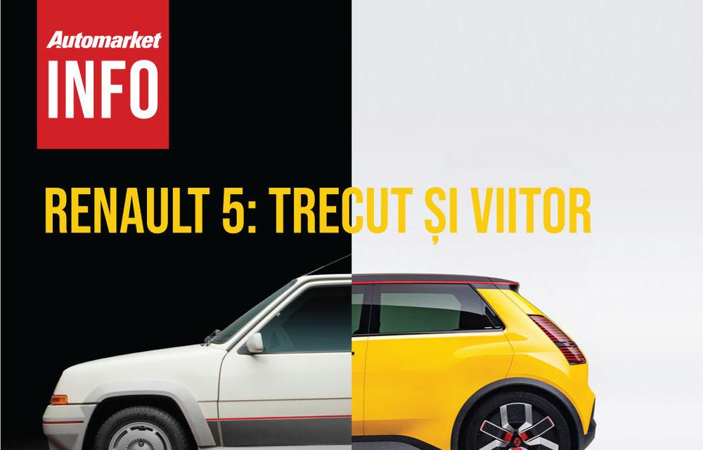 AUTOMARKET INFO: Renault 5 - cum arată conceptul în comparație cu modelul original - Poza 3