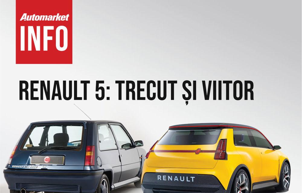 AUTOMARKET INFO: Renault 5 - cum arată conceptul în comparație cu modelul original - Poza 2