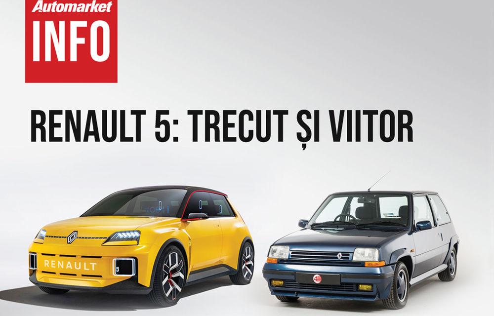 AUTOMARKET INFO: Renault 5 - cum arată conceptul în comparație cu modelul original - Poza 1