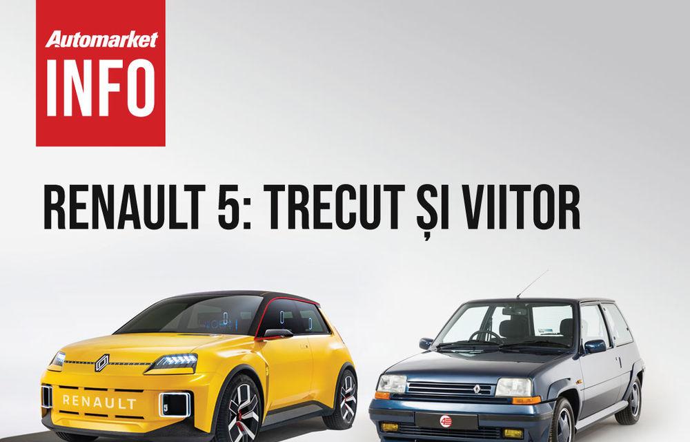 AUTOMARKET INFO: Renault 5 - cum arată conceptul în comparație cu modelul original - Poza 4