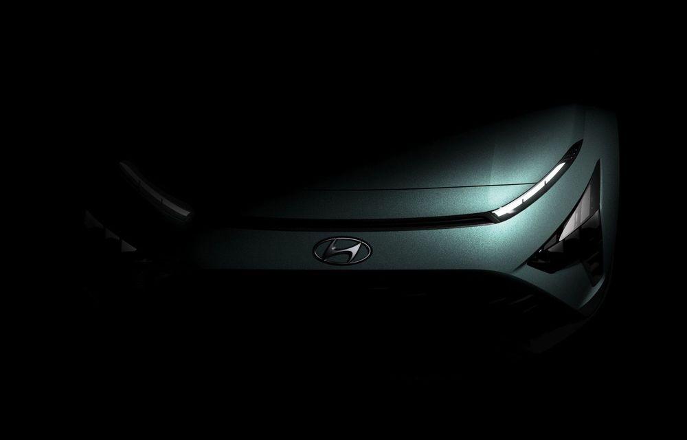 Hyundai dezvăluie primele imagini ale noului Bayon: SUV-ul subcompact va fi lansat în prima parte din 2021 - Poza 1
