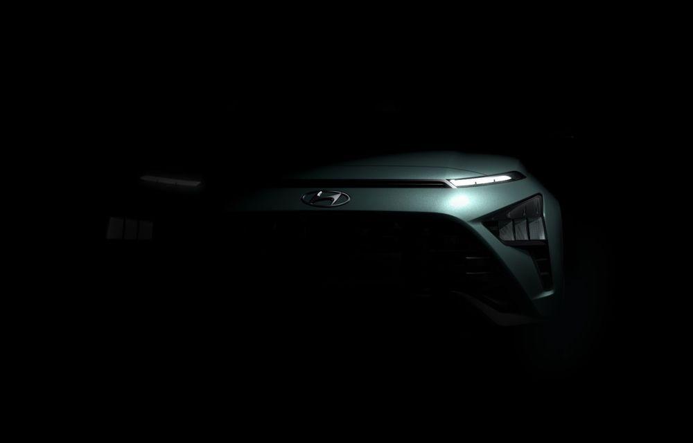 Hyundai dezvăluie primele imagini ale noului Bayon: SUV-ul subcompact va fi lansat în prima parte din 2021 - Poza 3