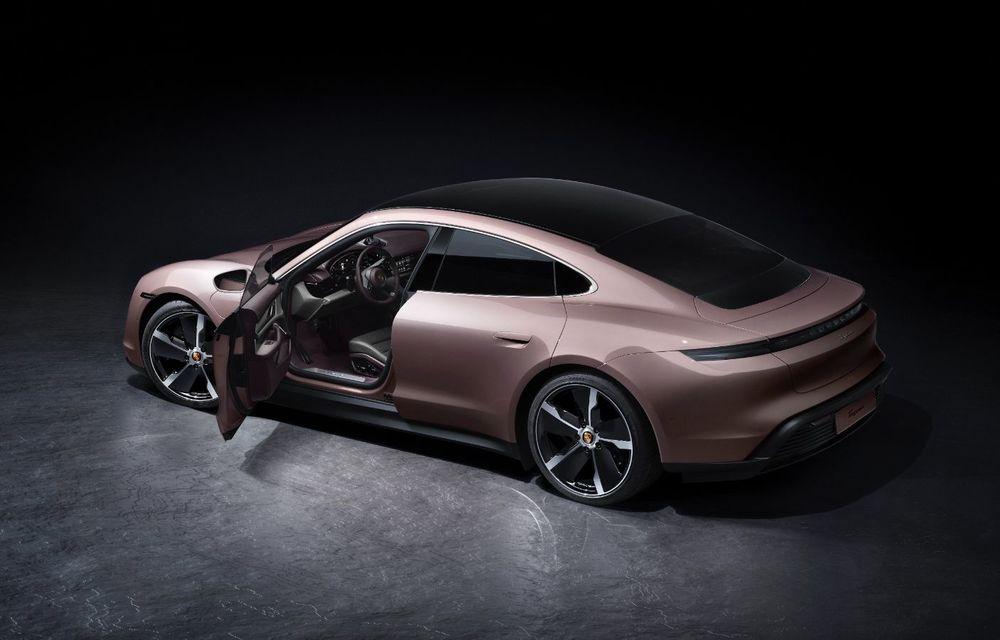 Cel mai accesibil Porsche Taycan: 83.500 de euro pentru versiunea de bază, cu 408 CP - Poza 4