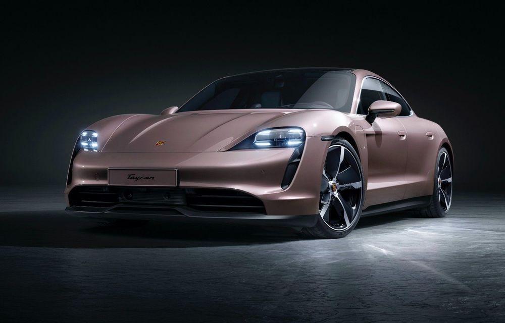 Cel mai accesibil Porsche Taycan: 83.500 de euro pentru versiunea de bază, cu 408 CP - Poza 1