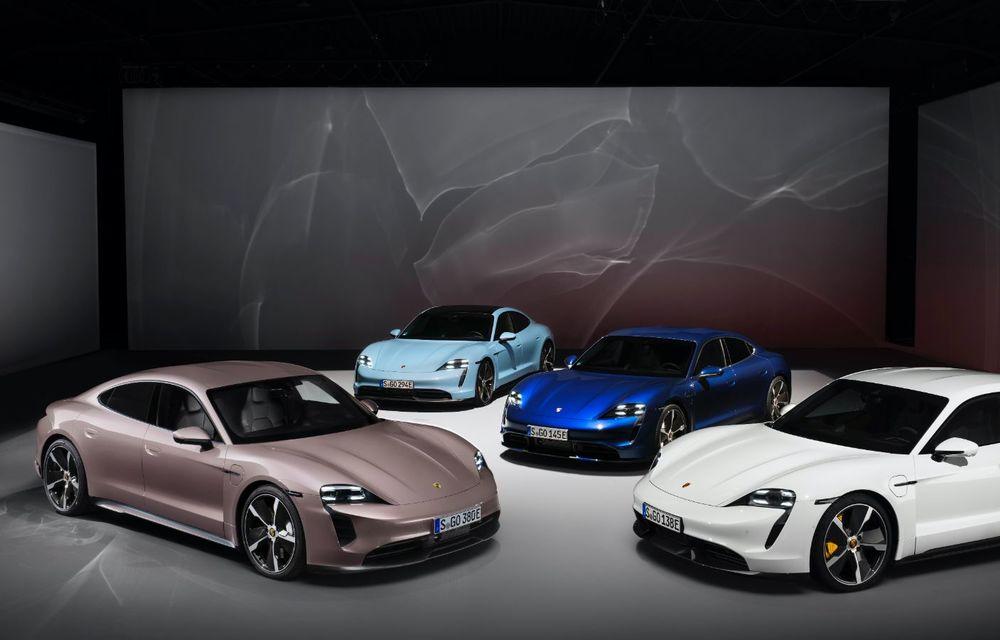 Cel mai accesibil Porsche Taycan: 83.500 de euro pentru versiunea de bază, cu 408 CP - Poza 3