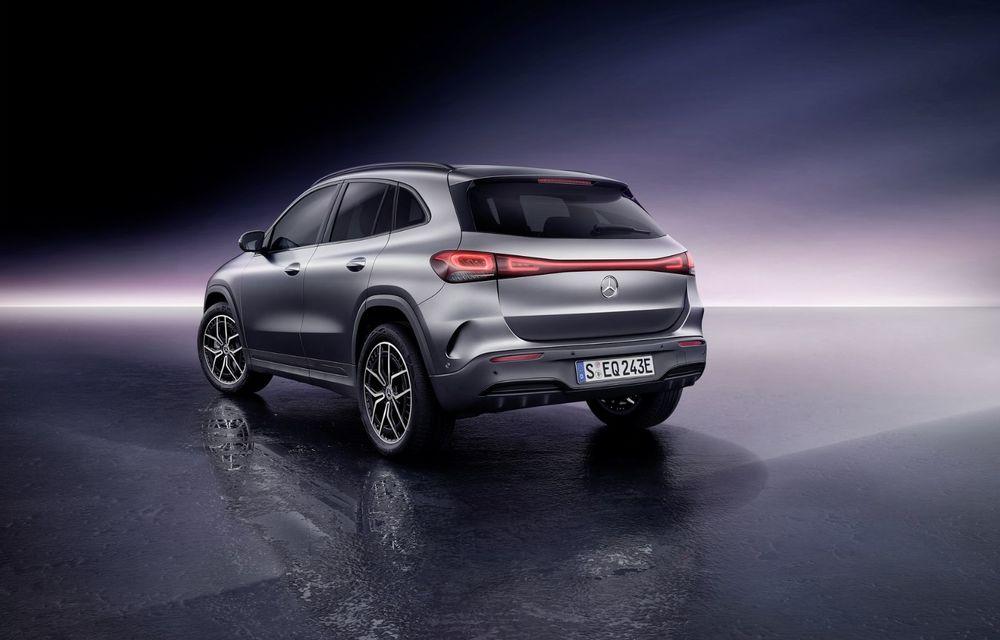 OFICIAL: Mercedes-Benz EQA este noul membru al familiei electrice EQ: autonomie de peste 420 kilometri - Poza 22