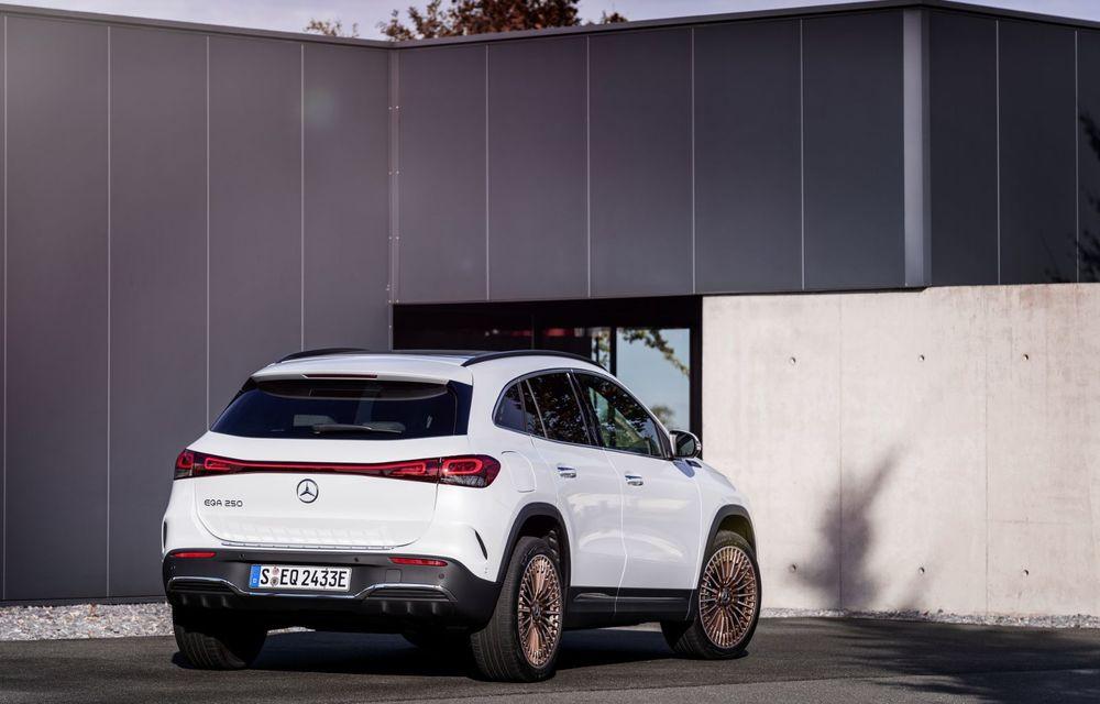 OFICIAL: Mercedes-Benz EQA este noul membru al familiei electrice EQ: autonomie de peste 420 kilometri - Poza 12