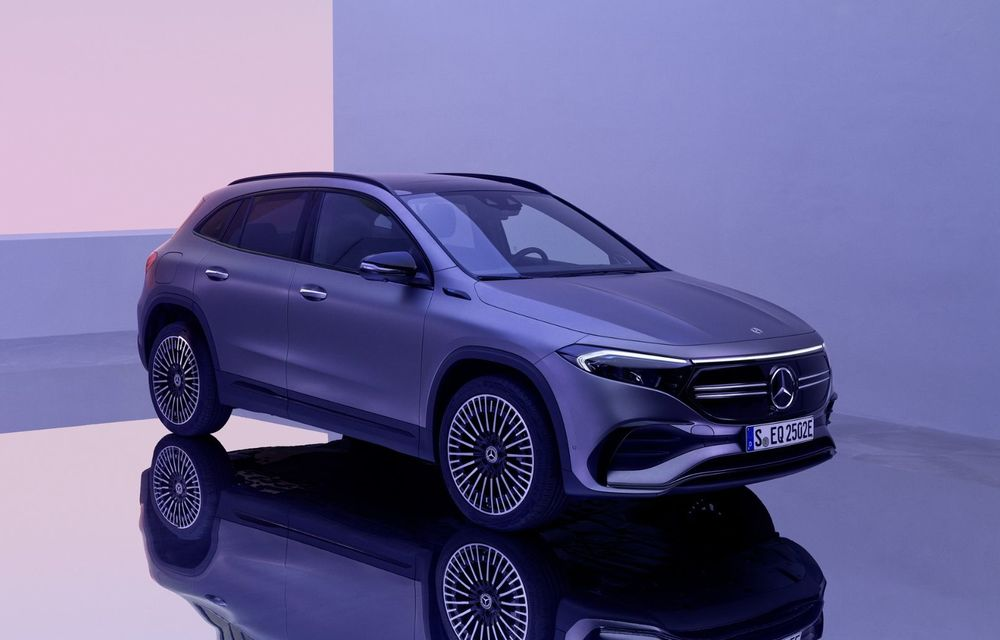 OFICIAL: Mercedes-Benz EQA este noul membru al familiei electrice EQ: autonomie de peste 420 kilometri - Poza 33