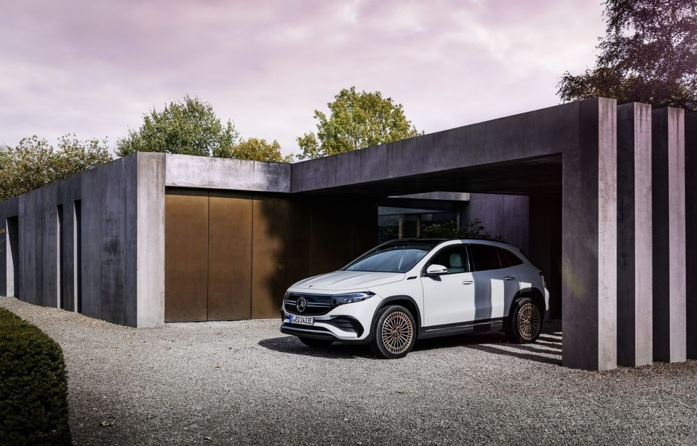 OFICIAL: Mercedes-Benz EQA este noul membru al familiei electrice EQ: autonomie de peste 420 kilometri - Poza 15