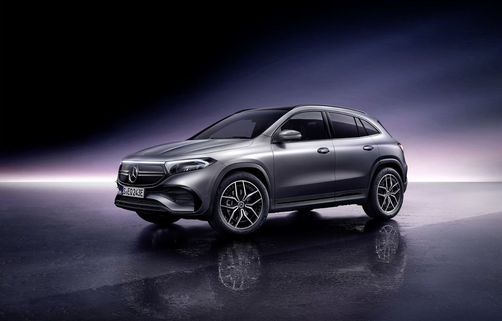 OFICIAL: Mercedes-Benz EQA este noul membru al familiei electrice EQ: autonomie de peste 420 kilometri - Poza 21