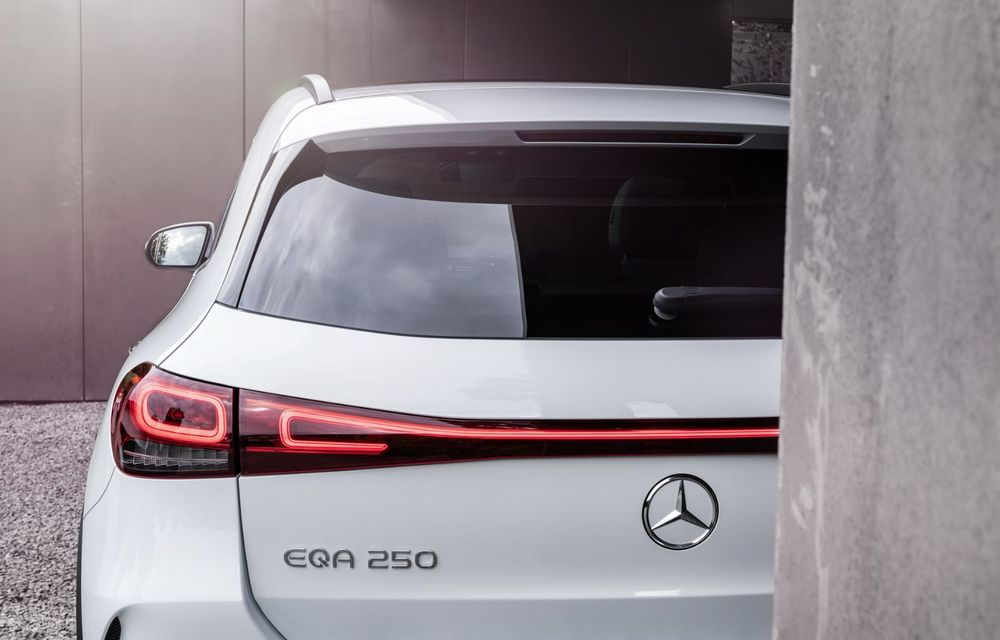 OFICIAL: Mercedes-Benz EQA este noul membru al familiei electrice EQ: autonomie de peste 420 kilometri - Poza 16