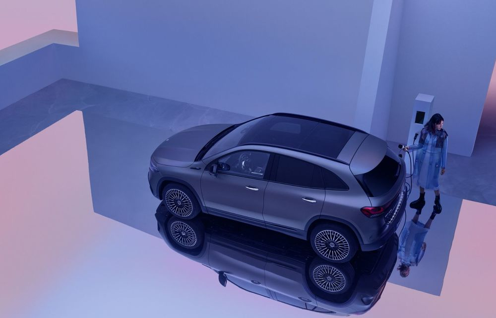 OFICIAL: Mercedes-Benz EQA este noul membru al familiei electrice EQ: autonomie de peste 420 kilometri - Poza 29